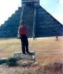 Peter, Mexican pyramid