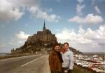 Peter and (?), Mont Saint-Michel