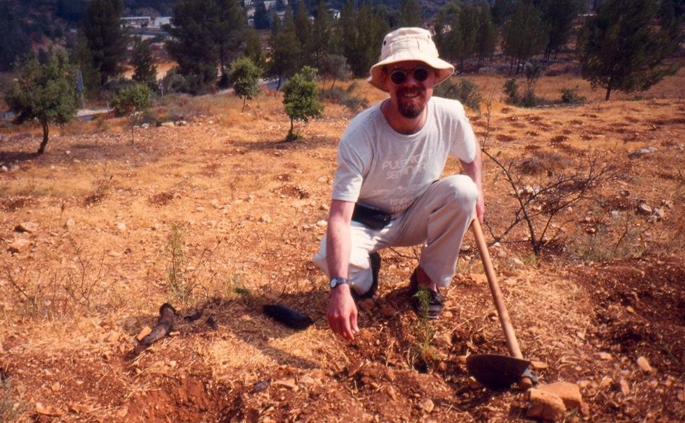 Peter Plants A Cedar